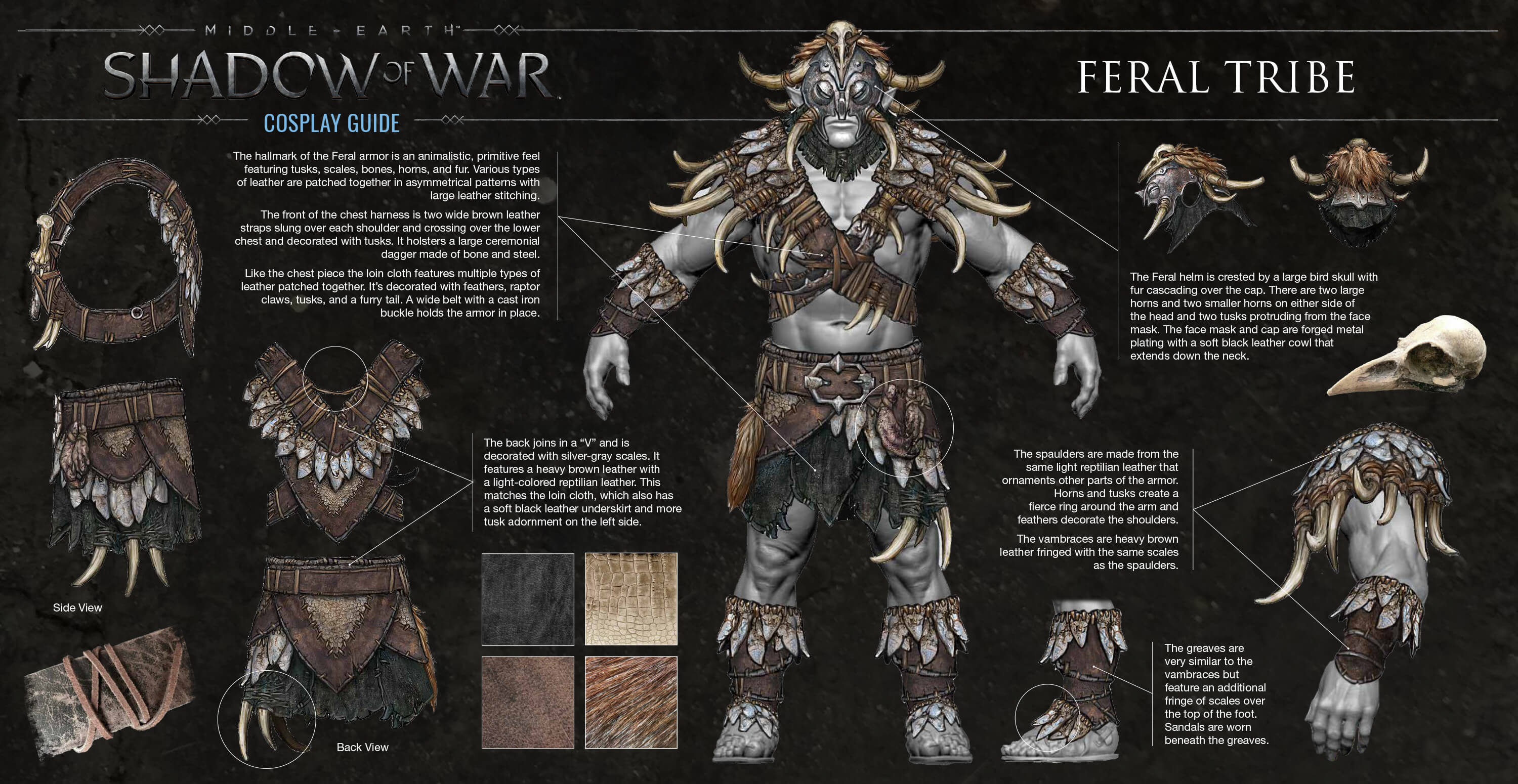 All 7 Orc Tribes Shown Off For Shadow Of War Isk Mogul